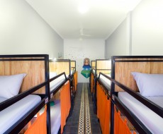 12-bed In Female Dormitory Room
